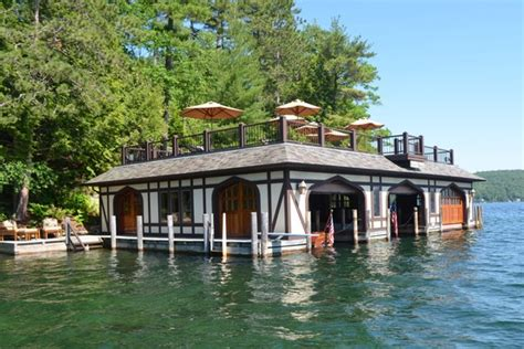 the boat house lake george a tudor home and boathouse on lake george wsj