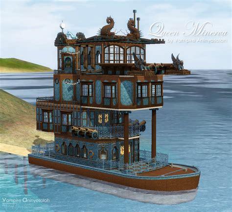 Kitchen Work Island mod the sims queen minerva steampunk boat no cc
