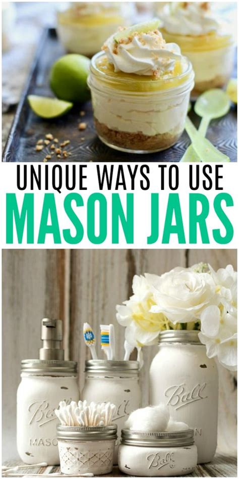 how to use mason jars in home d 233 cor 25 inpsiring ideas unique ways to use mason jars in your home