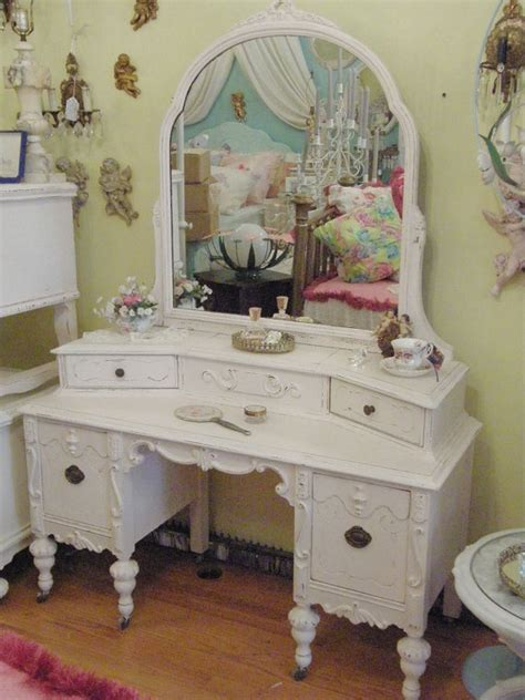 Vanity Chic by Girly Shabby Chic Vanity Mirror Dresser Country