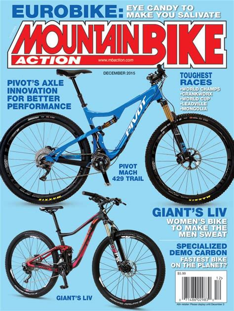 Mba Bike Magazine by Mountain Bike Magazine December 2015 Issue