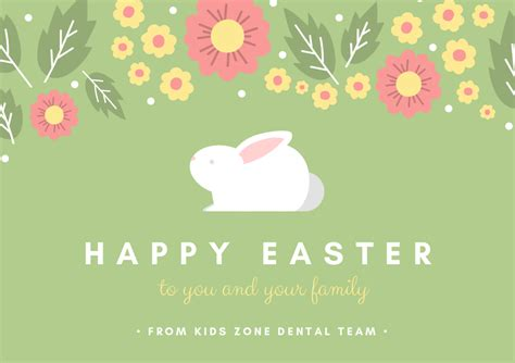 Wishing You A Happy Easter by Zone Dental Team Is Wishing You Happy Easter