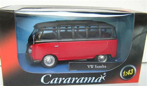 Diecast Mobil 1 64 Volkswagen Samba Japan 2016 models cararama hongwell diecast model car vw volkswagen kombi samba 1 43 scale new in