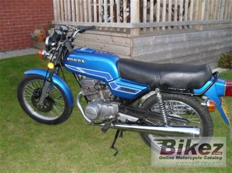 1978 Honda CB 125 T specifications and pictures