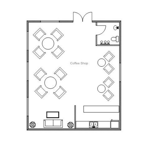 floor plan shop small coffee shop design coffee shop floor plans holy