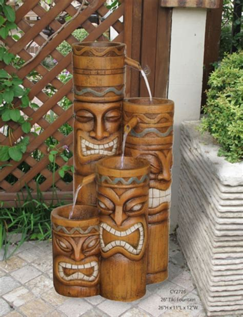 Tiki Patio Decor by 1000 Images About Fountains On Outdoor Garden