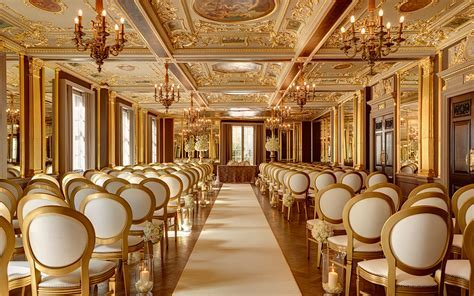 Wedding Venues in London   Hotel Café Royal   UK Wedding
