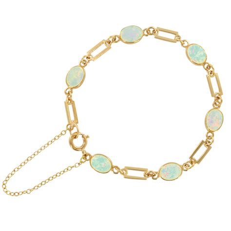 opal bracelet part of our opal purity collection from