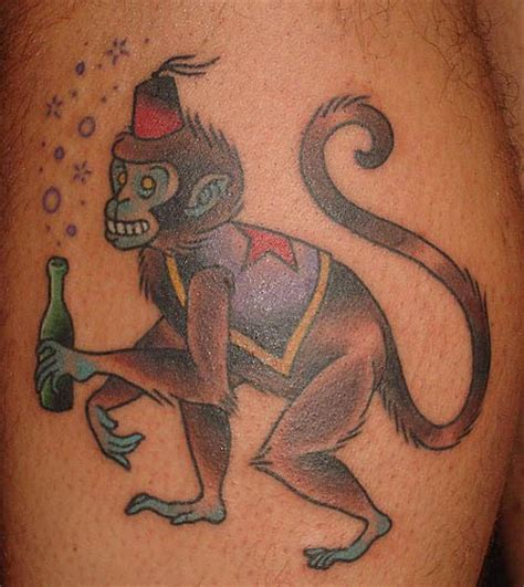monkey tattoo monkey tattoos designs ideas and meaning tattoos for you
