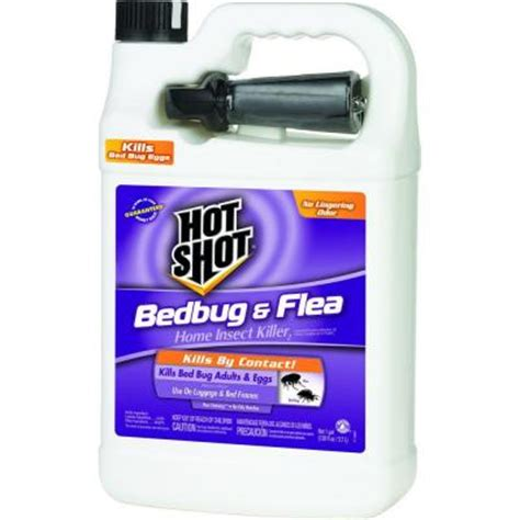 bed bugs spray home depot hot shot 1 gal ready to use bed bug killer hg 96190 the