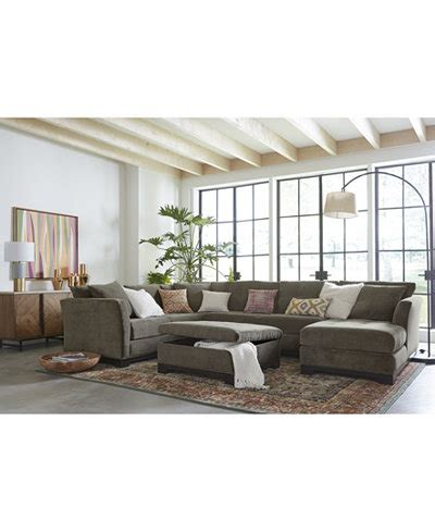 elliot fabric sectional living room furniture collection elliot fabric sectional collection created for macy s