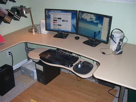 Custom Computer Desk Ideas 15 Diy Computer Desk Ideas Tutorials For Home Office Hative
