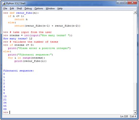 python tutorial javatpoint python display fibonacci sequence recursion javatpoint