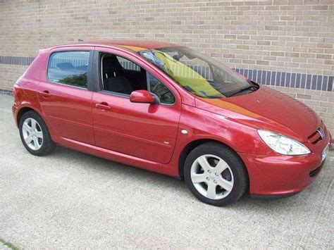 red peugeot for sale used peugeot 307 2005 diesel 2 0 hdi xsi sport hatchback
