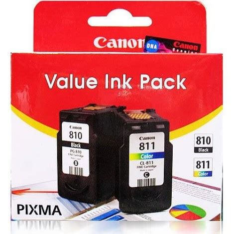 Cartridge Canon Pg 811 canon pg810 cl811 value pack
