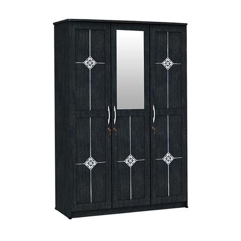 Lemari Pakaian Big Panel jual big panel lpc 8320 ap lemari pakaian 3 pintu kaca
