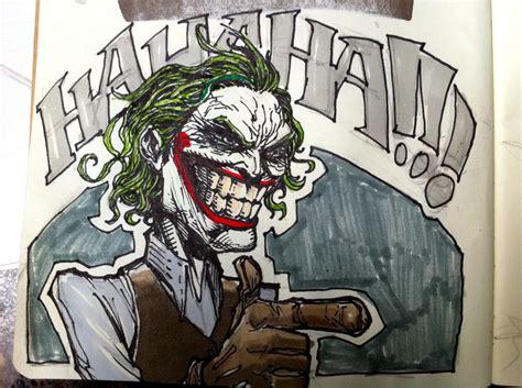 doodle joker joker marker doodle by shooonuff on deviantart