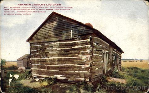 Abraham Lincolns Cabin by Abraham Lincoln S Log Cabin Presidents