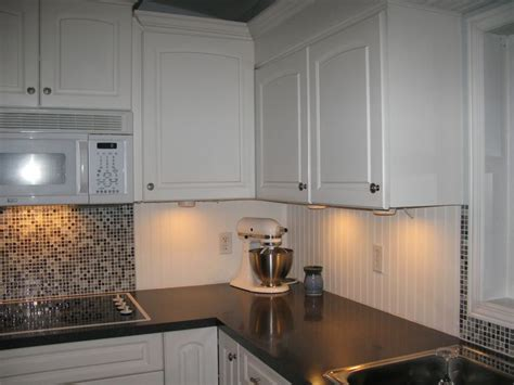white beadboard and tile backsplash more fav s