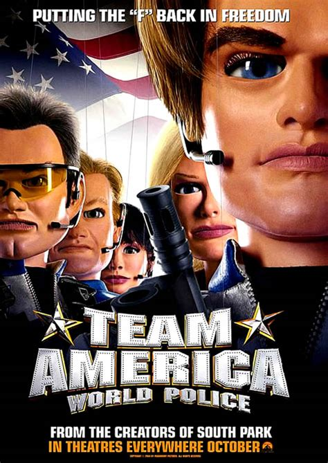 film action police comedy team america world police 3 comedy movie posters
