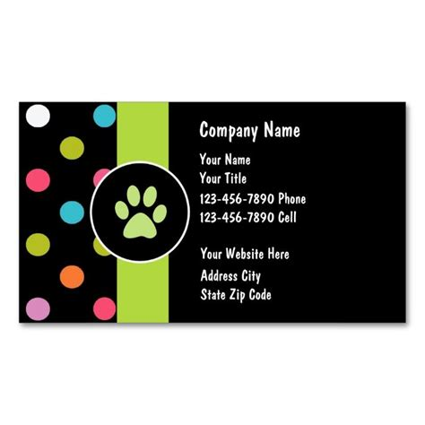 business card template pet care 2185 best images about animal pet care business card