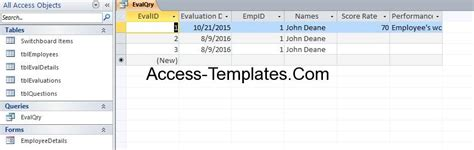 ms access employee database template access employee database templates for ms access 2013 and
