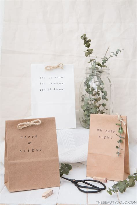 Simple Paper Bag - simple paper bag gift wrap