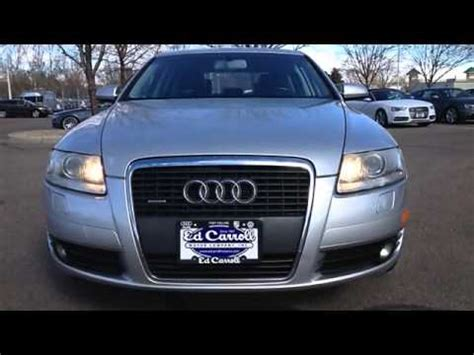 motor vehicle fort collins 2005 audi a6 ed carroll motor company fort collins co