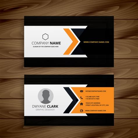 latest id card design dark corporate business card vector free download