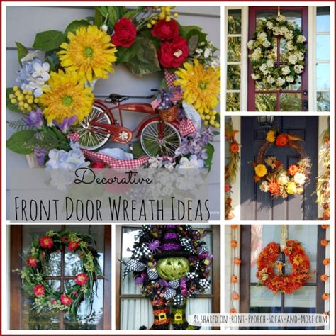 front door wreath ideas decorative front door wreaths perfect year round