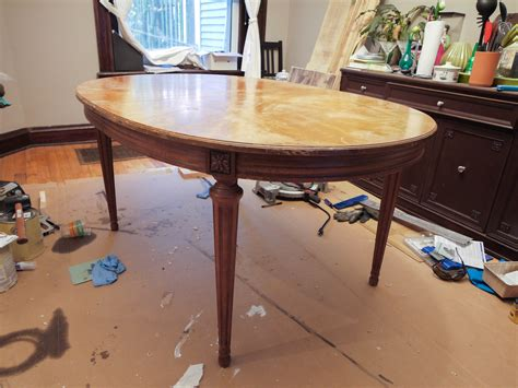 how to stain a dining room table refinishing a dining room table kelley alex