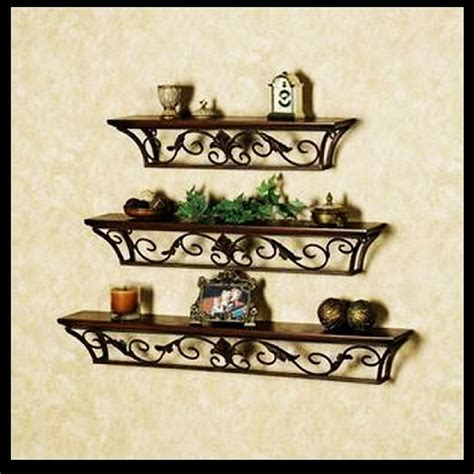 wrought iron bookcase designs country style wrought iron shelf wall shelves shelving