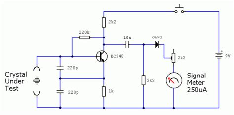 free electronic circuits two simple test circuits