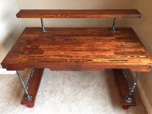 Desk Made Out Of Pallets by Steam Desk Husband Made Out Of Pallets