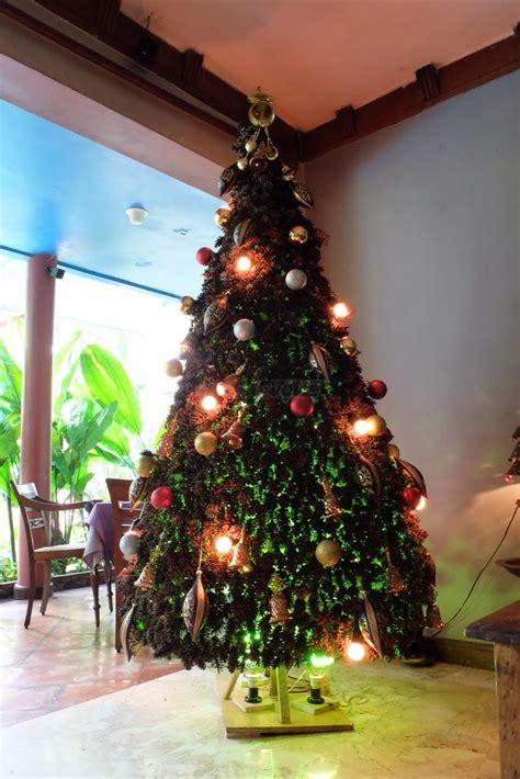 Pohon Natal Ukuran 12 Meter Jarum Unique Gold Kode P 010 pohon natal unik ramah lingkungan hiasi kota malang