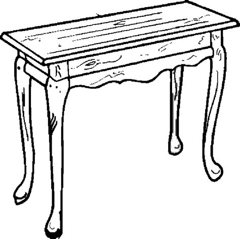 table coloring pages free image of a table coloring pages
