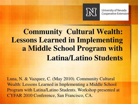 the wealthy lessons for prospering on a school s salary books ppt community cultural wealth lessons learned in