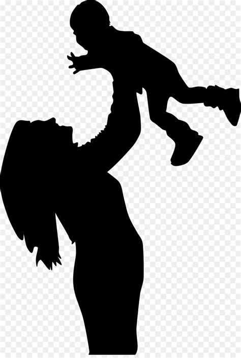 Mother clipart shadow, Mother shadow Transparent FREE for