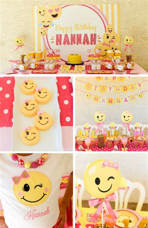 emoji party emoji party inspirations birthday party ideas themes