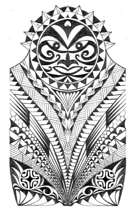 maori polynesian warrior sleeve stencil warrior half sleeve by thehoundofulster