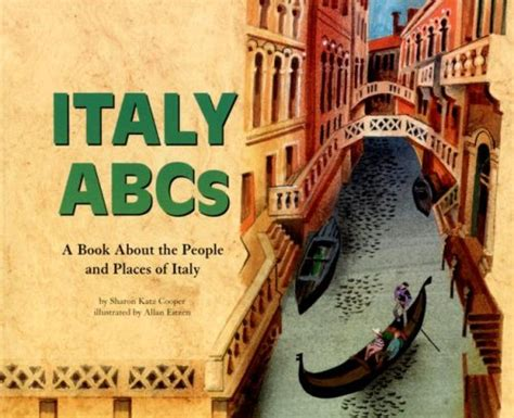 italian picture books italy abcs a book about the and places of italy