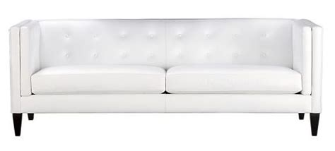 sleek white leather sofa top ten leather sofas we love
