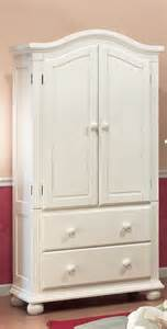 white clothing armoire reloc homes