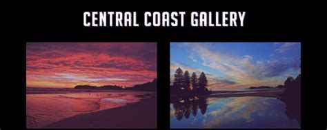central coast landscape photographer seascape