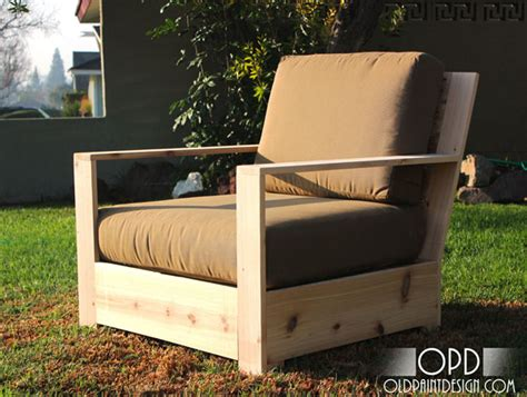 How To Build Patio Chairs White Bristol Outdoor Lounge Chair Diy Projects