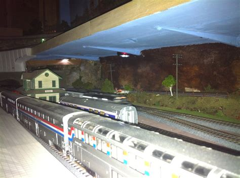more from steve and his track layout model railway