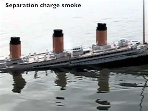 Is Slowly Separating From The Ship by Titanic Up Failures 2 Mo Intact Sinking