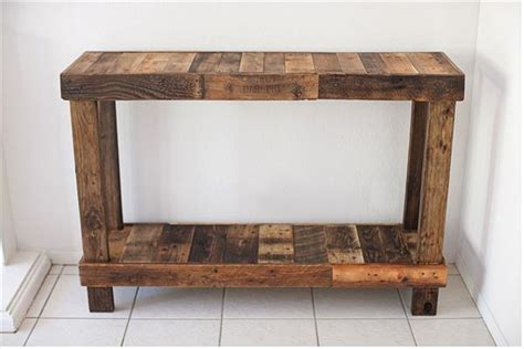 Butcher Block Dining Room diy reclaimed pallet wood tables diy and crafts