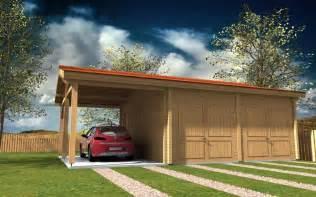 Dimensions Of 3 Car Garage garage en bois