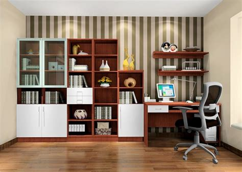 danish modern study room interior design 3d house